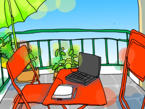Balkonszene