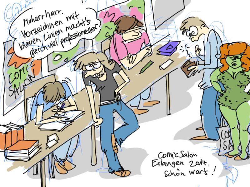 Comicsalon Erlangen 2014